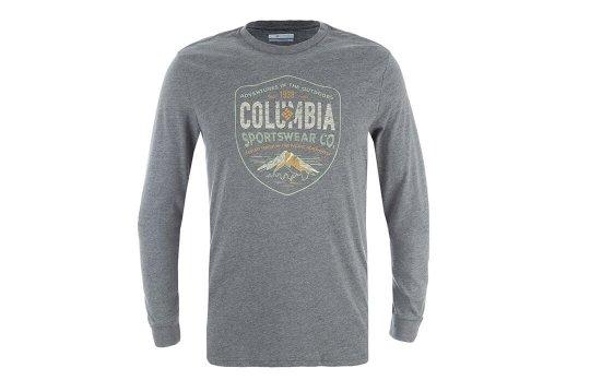 Футболка с длинным рукавом мужская Columbia Smugged Shield