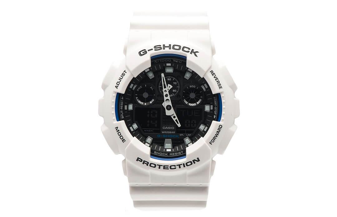 Часы G-Shock GA-100BW-1AER